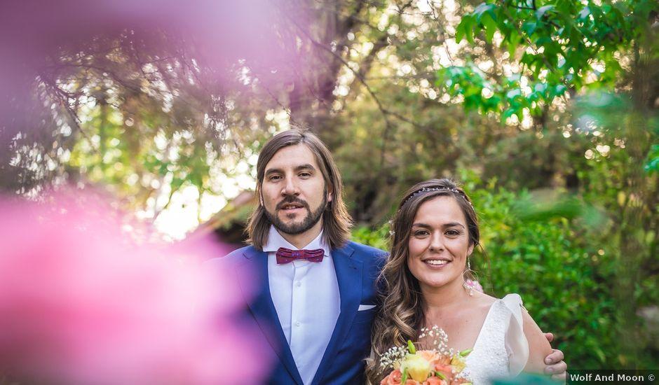 El matrimonio de Cristóbal y María Gracia en Peñalolén, Santiago