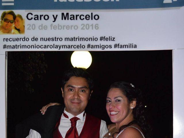 El matrimonio de Caro y Marce