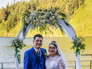 El matrimonio de Kihomar y Cristina