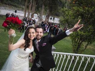El matrimonio de Helen y Christian