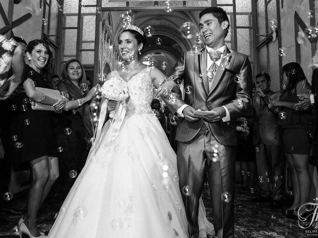 El matrimonio de Paulina y Esteban