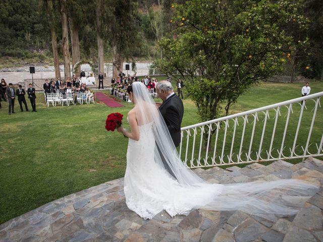 El matrimonio de Christian y Helen en San José de Maipo, Cordillera 14