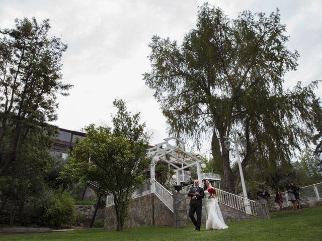 El matrimonio de Christian y Helen en San José de Maipo, Cordillera 15