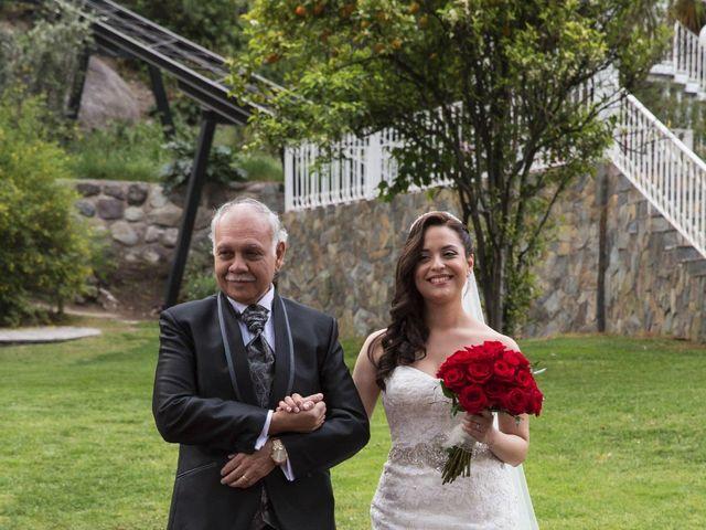 El matrimonio de Christian y Helen en San José de Maipo, Cordillera 16