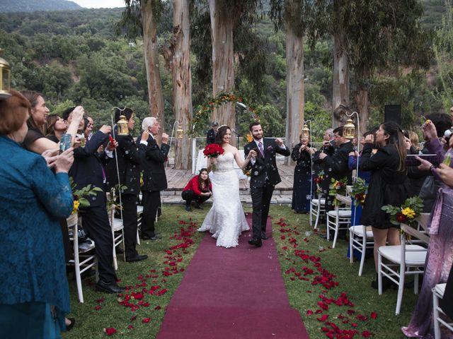 El matrimonio de Christian y Helen en San José de Maipo, Cordillera 20