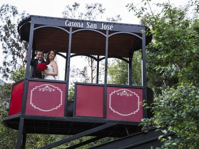 El matrimonio de Christian y Helen en San José de Maipo, Cordillera 23