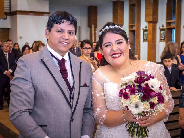 El matrimonio de Yessenia y José