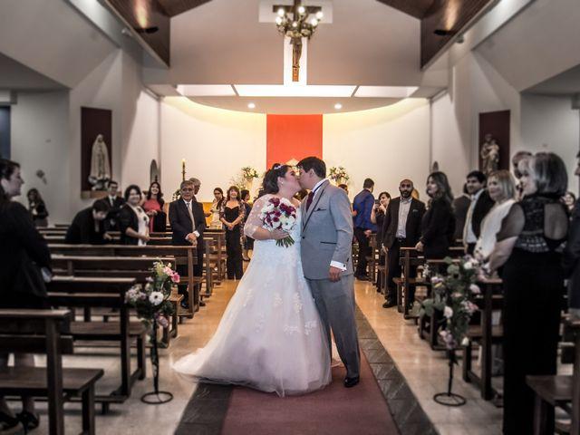 El matrimonio de José y Yessenia en Pirque, Cordillera 16