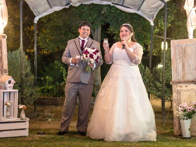 El matrimonio de José y Yessenia en Pirque, Cordillera 22