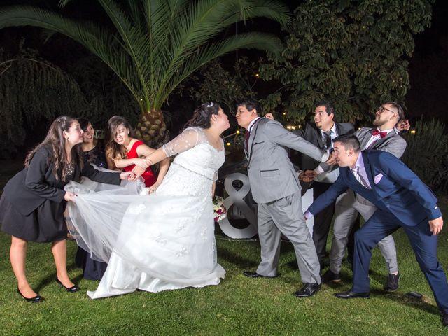 El matrimonio de José y Yessenia en Pirque, Cordillera 30
