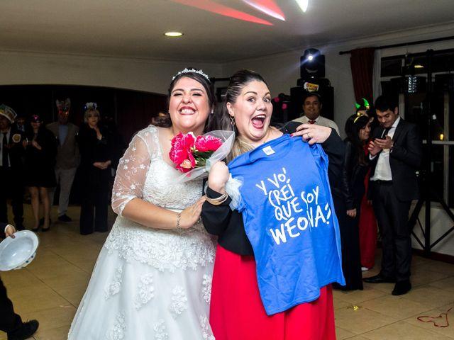 El matrimonio de José y Yessenia en Pirque, Cordillera 48
