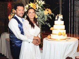 El matrimonio de María Luisa y Claudio 1