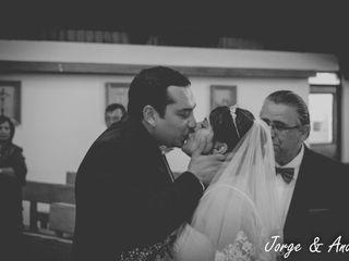 El matrimonio de Jorge y Andrea 1