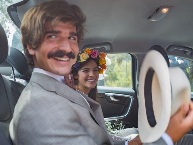 El matrimonio de Luciana y Sebastián