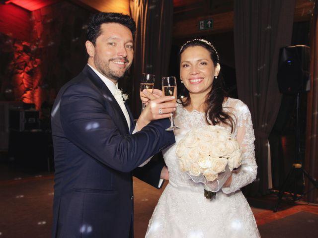 El matrimonio de María Luisa y Claudio