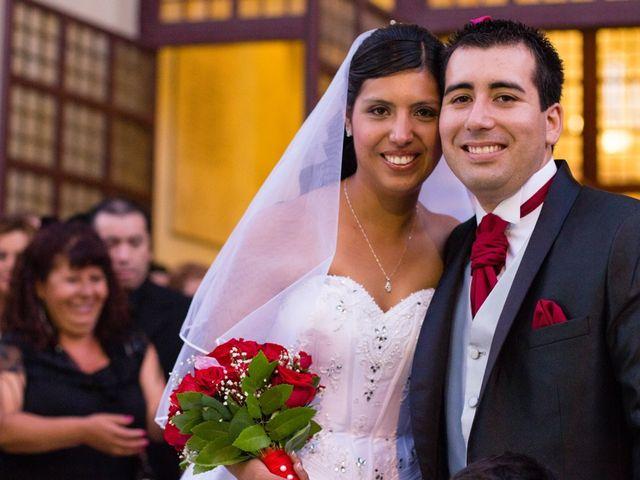El matrimonio de Elizabeth y Mauricio