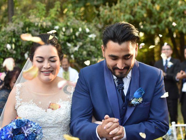 El matrimonio de Ariadne y Guido en Pirque, Cordillera 2