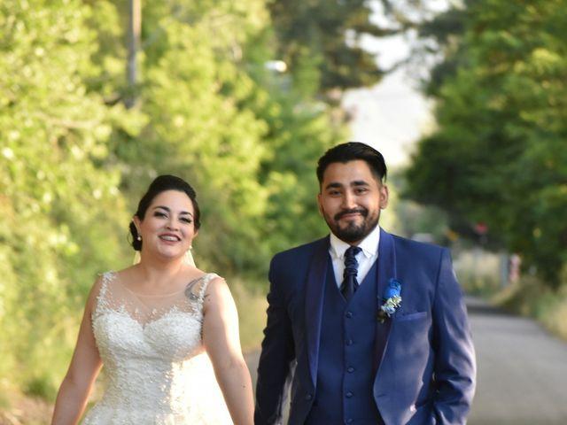 El matrimonio de Ariadne y Guido en Pirque, Cordillera 15