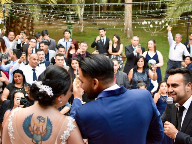 El matrimonio de Ariadne y Guido en Pirque, Cordillera 29