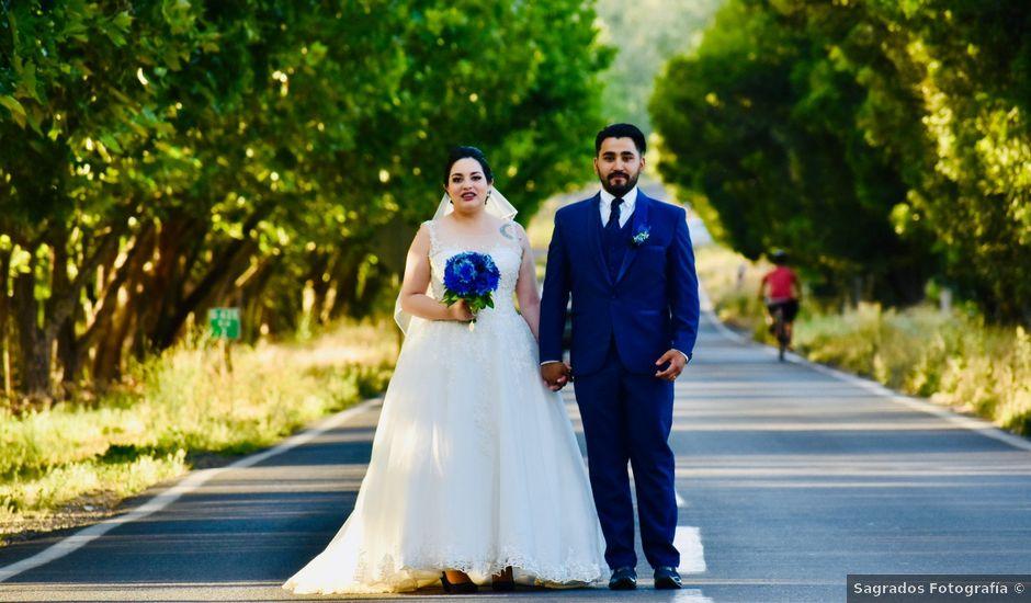 El matrimonio de Ariadne y Guido en Pirque, Cordillera