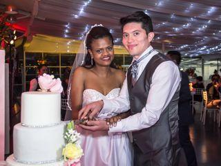 El matrimonio de Eliane y Eddy