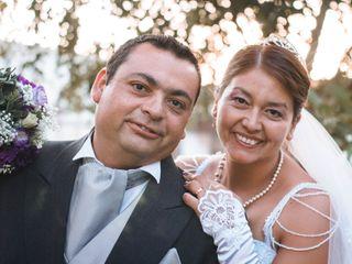 El matrimonio de Isabel y Rodrigo