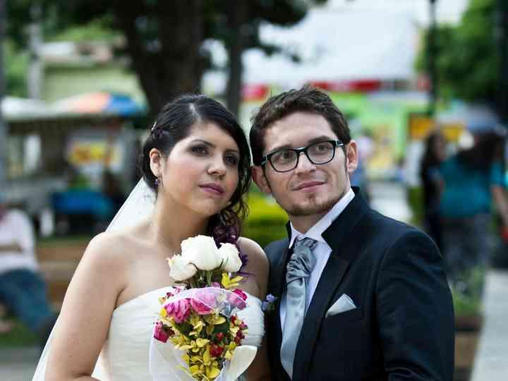 El matrimonio de Kata y Raul
