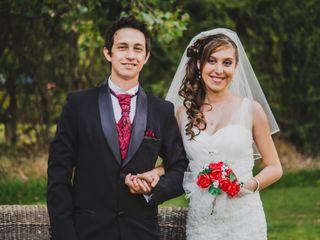 El matrimonio de María Paz y Ignacio