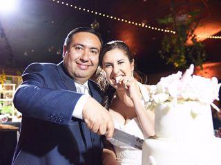 El matrimonio de Cecilia y Alexis
