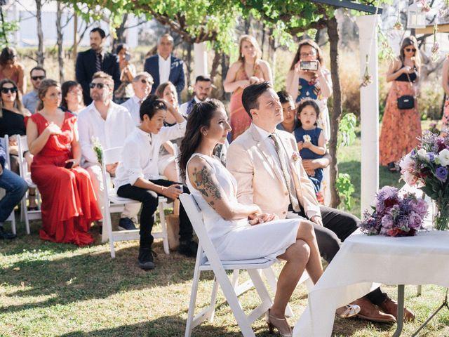 El matrimonio de Tomás y Pilar en Paine, Maipo 14