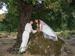 El matrimonio de Estela y Diego
