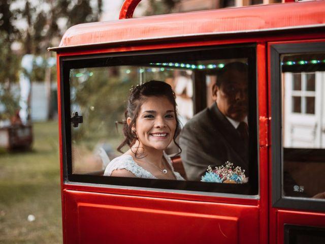 El matrimonio de Cristian y Karla en San José de Maipo, Cordillera 56