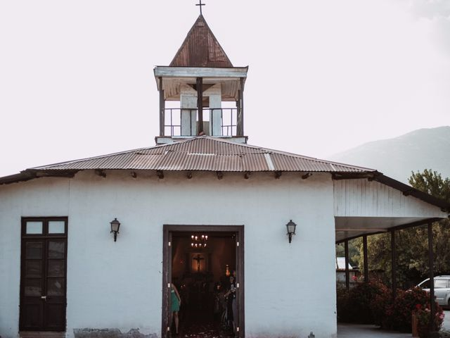 El matrimonio de Cristian y Karla en San José de Maipo, Cordillera 61