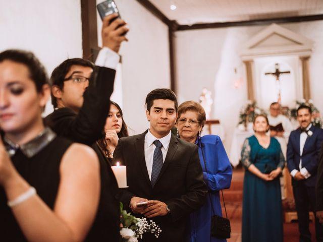 El matrimonio de Cristian y Karla en San José de Maipo, Cordillera 68