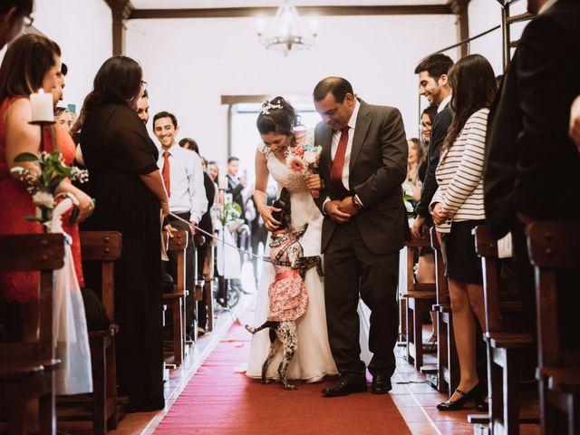El matrimonio de Cristian y Karla en San José de Maipo, Cordillera 70