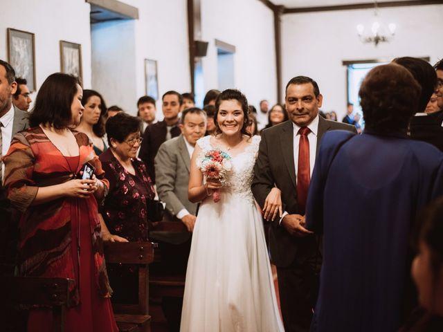 El matrimonio de Cristian y Karla en San José de Maipo, Cordillera 72