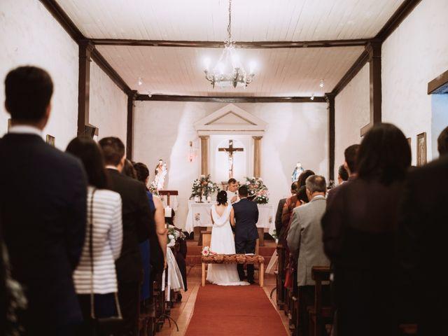 El matrimonio de Cristian y Karla en San José de Maipo, Cordillera 77