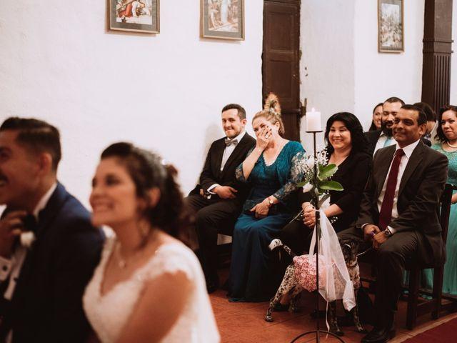 El matrimonio de Cristian y Karla en San José de Maipo, Cordillera 80