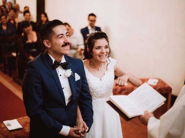 El matrimonio de Cristian y Karla en San José de Maipo, Cordillera 81