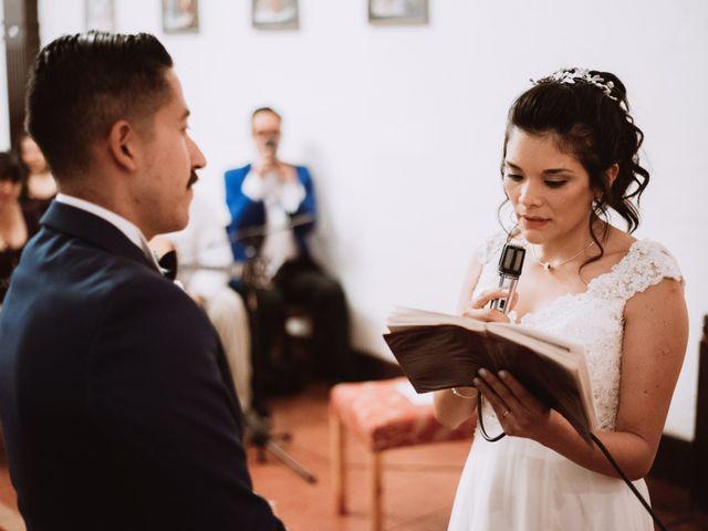 El matrimonio de Cristian y Karla en San José de Maipo, Cordillera 83