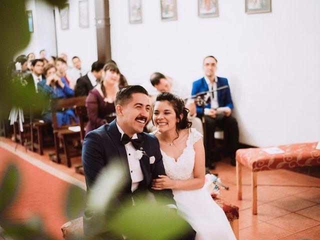 El matrimonio de Cristian y Karla en San José de Maipo, Cordillera 89