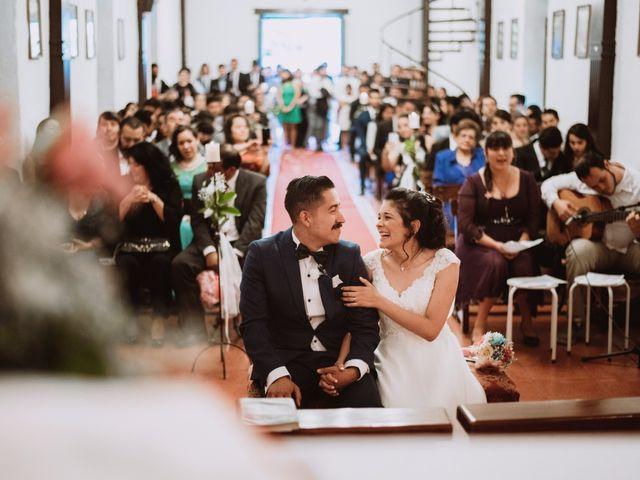 El matrimonio de Cristian y Karla en San José de Maipo, Cordillera 90