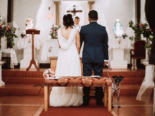 El matrimonio de Cristian y Karla en San José de Maipo, Cordillera 93