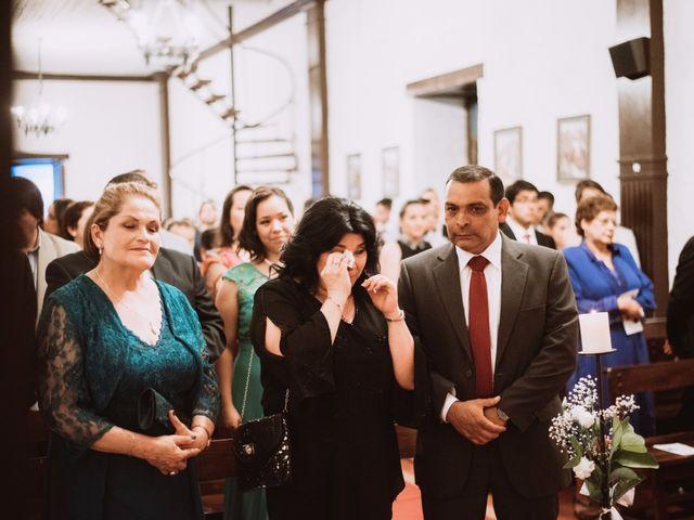 El matrimonio de Cristian y Karla en San José de Maipo, Cordillera 96