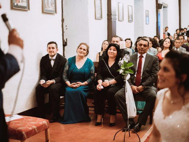 El matrimonio de Cristian y Karla en San José de Maipo, Cordillera 99