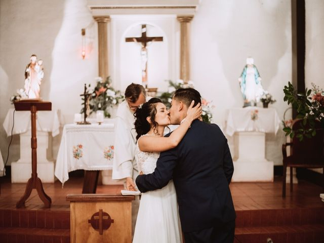 El matrimonio de Cristian y Karla en San José de Maipo, Cordillera 106