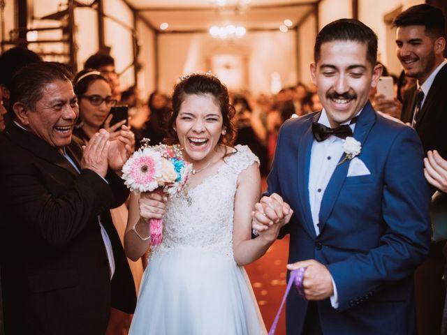 El matrimonio de Cristian y Karla en San José de Maipo, Cordillera 1