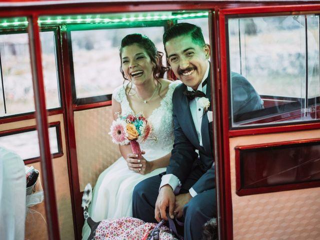El matrimonio de Cristian y Karla en San José de Maipo, Cordillera 108