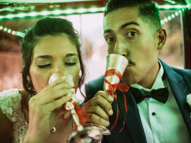 El matrimonio de Cristian y Karla en San José de Maipo, Cordillera 112