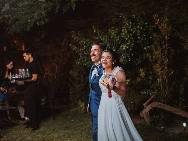 El matrimonio de Cristian y Karla en San José de Maipo, Cordillera 120